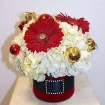 Santa's Hydrangea Bouquet *Local Delivery Only*