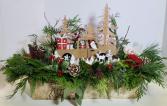 Santa's Ride Seasonal Arrangement