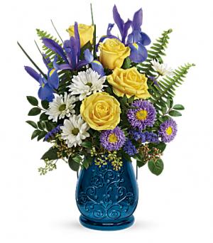 Sapphire Garden Bouquet  in Fort Collins, CO | D'ee Angelic Rose Florist