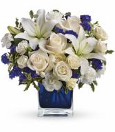 Sapphire Skies Bouquet Arrangement