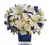 Sapphire Skies Bouquet Home