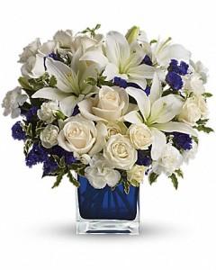 Sapphire Skies Vase Arrangement