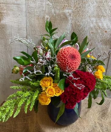 Sapphire Surprise Floral arrangement