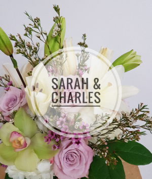 Sarah & Charles  Rustic Mason Jar Arrangement in Oshawa, ON | Dream Bloom Flowers