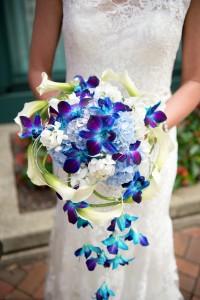 Sarah's Smile Cascade Bride's Bouquet Abloom Original