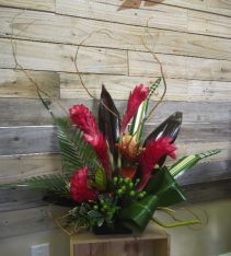Sassy Ginger Tropical Arrangement