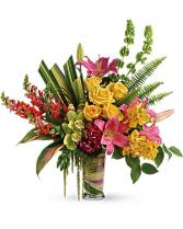 SASSY SURPRISE Vase arrangement
