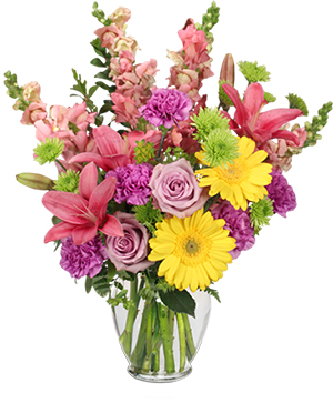 Savannah Style Floral Arrangement in Ozone Park, NY | Heavenly Florist