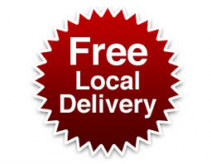 """FREE DELIVERY"" FOR LOCAL ONLINE ORDERS ONLY"