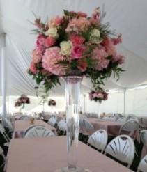 Save the date wedding flower deposit Deposit