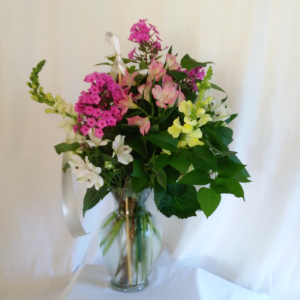 Designers Choice Save The Day Bouquet Vase in Norway, ME | Green Gardens Florist & Gift Shop