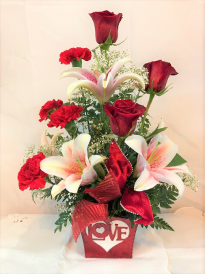 Say it with LOVE Valentine's Day in Crestview, FL | The Flower Basket Florist