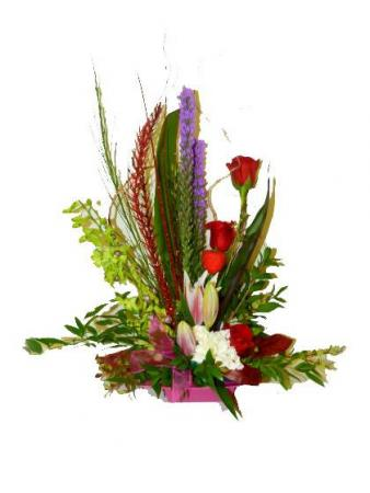 Say it with Style! Container arrangement