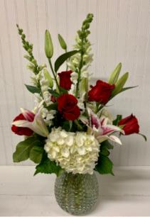 Say It's So  Vase Arrangement