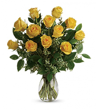 Say Yellow Rose Bouquet