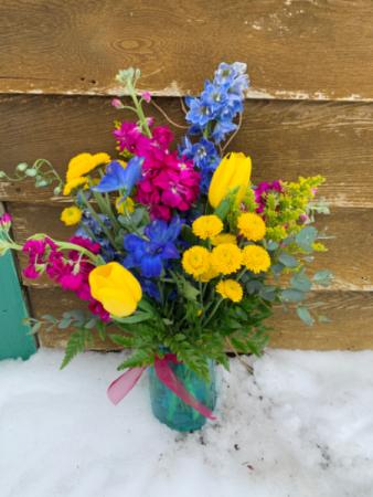 Sayin' Hello Spring  Floral Arrangement