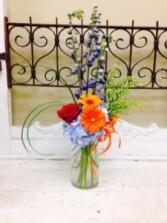 Sbb1 Seasonal colors  in a mason jar