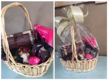 Scarf, Box, Candle etc. Gift Basket