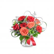Scarlet Flame Arrangement