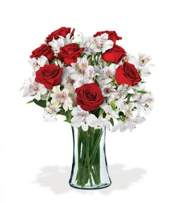 Scarlet Sweets Vase Arrangement