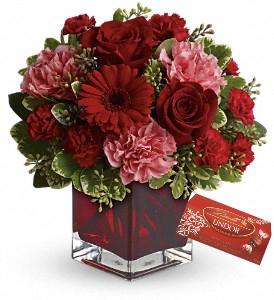 Scarlett  Red Fresh arrangement