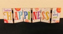 Scatter Happiness Hinged Decor Blocks