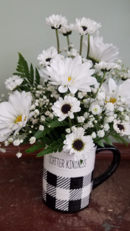 Scatter Kindness Farmhouse Mug