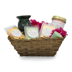 Scented Candle Gift Basket In Whitesboro Ny Kowalski Flowers Inc
