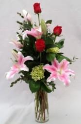 Scented Elegance Vase Arrangement