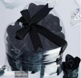 Scented Rose Soap Gift Box - Black Add-on