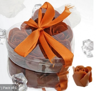 Scented Rose Soap Gift Box - Chocolate Add-on