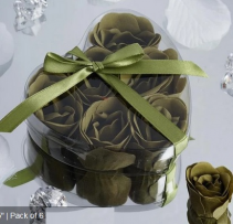 Scented Rose Soap Gift Box - Moss Green Add-on