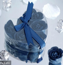Scented Rose Soap Gift Box - Navy Add-on