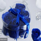 Scented Rose Soap Gift Box - Royal Blue Add-on