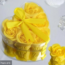 Scented Rose Soap Gift Box - Yellow Add-on
