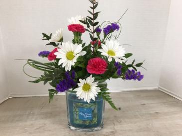 """Scent""sational Blooms! Fresh Arrangement"