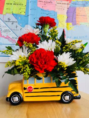 School Bus Fun  in Sedalia, MO | State Fair Floral
