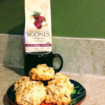 Sticky Finger Scones