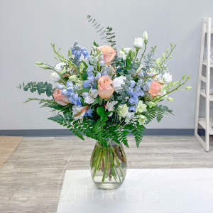 Sea Breeze Vase Arrangement in Middletown, NJ | Fine Flowers
