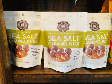 Sea Salt Caramel Bites