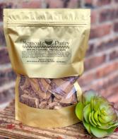 Sea Salt Caramel Pretzel Bark Food