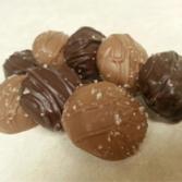 Sea Salt Caramels Milk Chocolate 8oz Bag