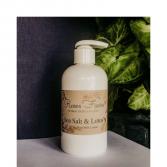 Sea Salt & Lotus Goat Milk Lotion  Waveland Candle Company