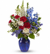 Sea to Shining Sea Floral Bouquet
