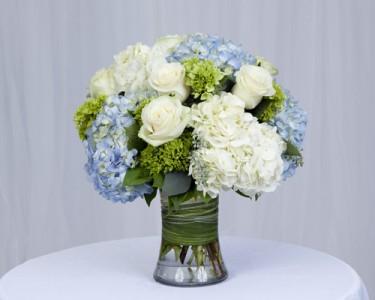 d52d60c07ea9 Seabreeze Rose and Hydrangea Mix Vase Arrangement in Fairfield