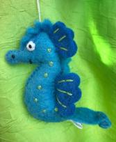 Seahorse Felt Ornament Ornament Add-On