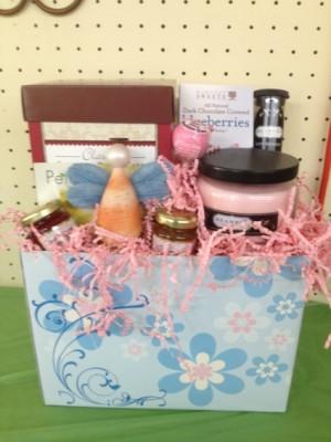 Seashell Angel Love Gourmet/Gift Basket in Eastman, GA | MARTHA SHELDON FLOWERS & EVENTS