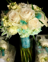 Seashells and waves Bridal Bouquet