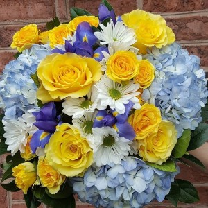 Seashore  Hand Tied Bouquet in Chatham, NJ   SUNNYWOODS FLORIST