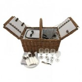 SEASIDE CAPE COD WICKER PICNIC SET
